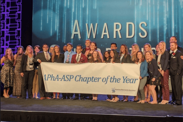 Students win the APhA-ASP Chapter of the Year award
